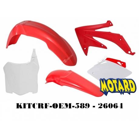 RTECH KIT PLASTICHE HONDA CRF 450 2008