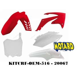 RTECH KIT PLASTICHE HONDA CRF 450 2011-2012