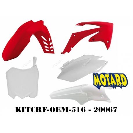 RTECH KIT PLASTICHE HONDA CRF 450 2011 2012