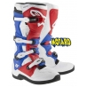 ALPINESTARS TECH 5 WHITE-RED-BLUE