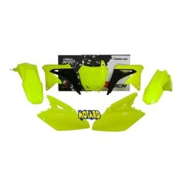 RTECH KIT PLASTICHE SUZUKI RMZ 450 2008-2016 GIALLO Neon