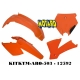 RTECH KIT PLASTICHE KTM SX-SXF 125-525 2004