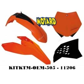 RTECH KIT PLASTICHE KTM SX-SX-F 125-505 2007-2010