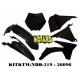 RTECH KIT PLASTICHE KTM SX 125-150-250 2011