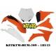 RTECH KIT PLASTICHE KTM SX 125-150-250 2012