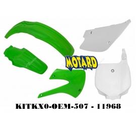 RTECH KIT PLASTICHE KAWASAKI KX 85-100 1998-2013