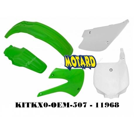 RTECH KIT PLASTICHE KAWASAKI KX 85-100 1998-2013 PROMO