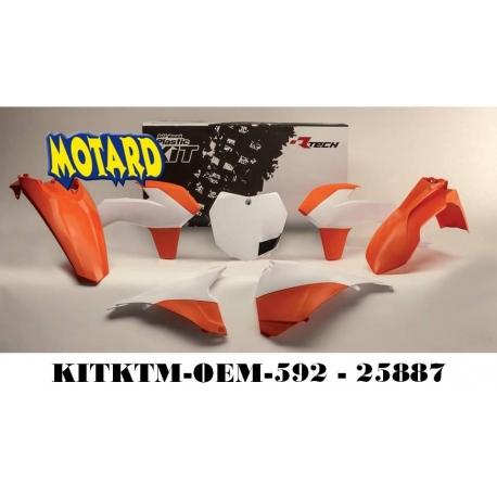 RTECH KIT PLASTICHE KTM SX 125-150 2013-2015