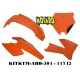 RTECH KIT PLASTICHE KTM EXC-EXC-F 2005-2007