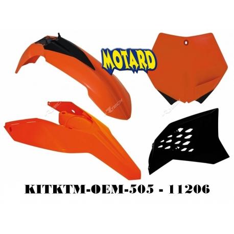 RTECH KIT PLASTICHE KTM EXC-EXC-F 2008-2011