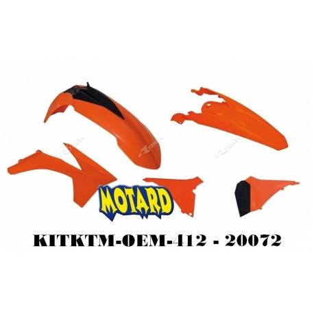 RTECH KIT PLASTICHE KTM EXC-EXC-F 2012-2013