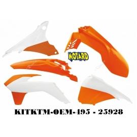 RTECH KIT PLASTICHE KTM EXC-EXC-F 2014-2016