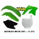 RTECH KIT PLASTICHE KAWASAKI KXF 250 2006-2008 PROMO