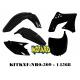 RTECH KIT PLASTICHE KAWASAKI KXF 250 2009-2012 PROMO