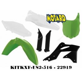 RTECH KIT PLASTICHE KAWASAKI KXF 250 2013-2016 REPLICA USA