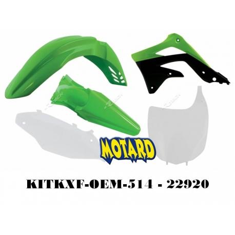 RTECH KIT PLASTICHE KAWASAKI KXF 450 2012 PROMO