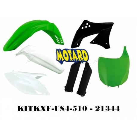 RTECH KIT PLASTICHE PER KAWASAKI KXF 450 2009-2011 REPLICA USA