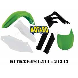 RTECH KIT PLASTICHE PER KAWASAKI KXF 450 2012 REPLICA USA