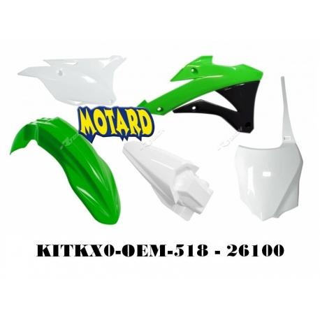 RTECH KIT PLASTICHE KAWASAKI KX 85-100 2014-2016 PROMO
