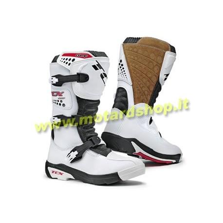 T.C.X. COMP KIDS WHITE SALDO Stivali Minicross Bimbo
