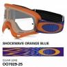 Oakley O Frame Mx Shockwawe Orange Blue
