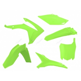 RTECH KIT PLASTICHE HONDA CRF 450 2013 2016 GIALLO NEON