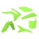 RTECH KIT PLASTICHE HONDA CRF 450 2013 2016 GIALLO FLUO