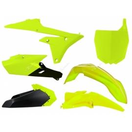 RTECH KIT PLASTICHE YAMAHA YZF 250 e 450 2014-2017 Giallo Neon