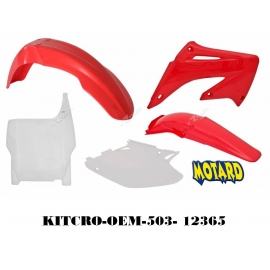 RTECH KIT PLASTICHE HONDA CR 125-250 2004-2007