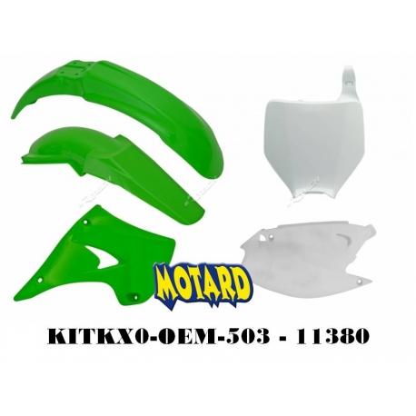 RTECH KIT PLASTICHE KAWASAKI KX 125-250 2003-2008 PROMO