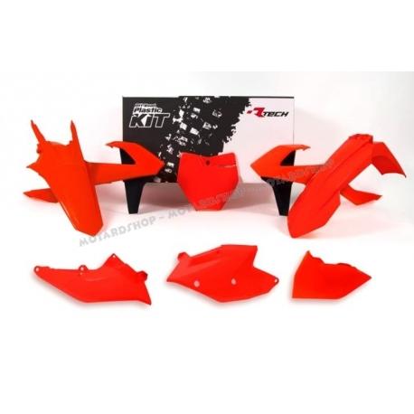 RTECH KIT PLASTICHE KTM SX 125-150 2016 ARANCIO NEON