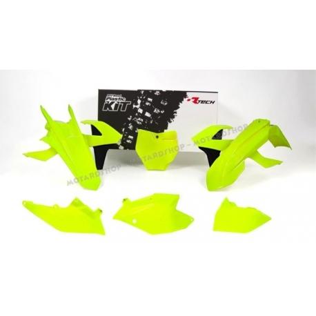 RTECH KIT PLASTICHE KTM SX-F 250-350-450 2016 GIALLO NEON
