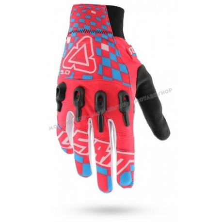 Leatt Glove DBX 3.0 X-Flow Red-Blue-White