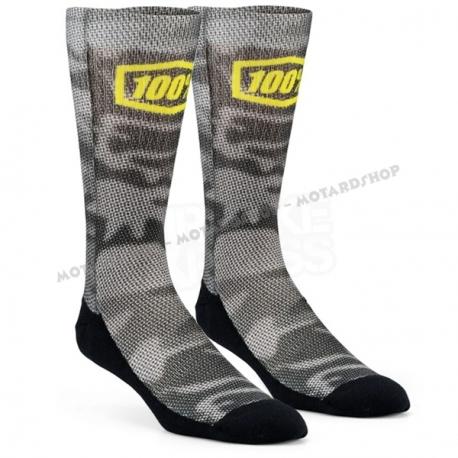 100% Bionic Camo Socks