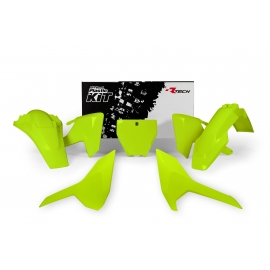 RTECH KIT PLASTICHE HUSQVARNA  FC 250-350-450 2016 Giallo Neon