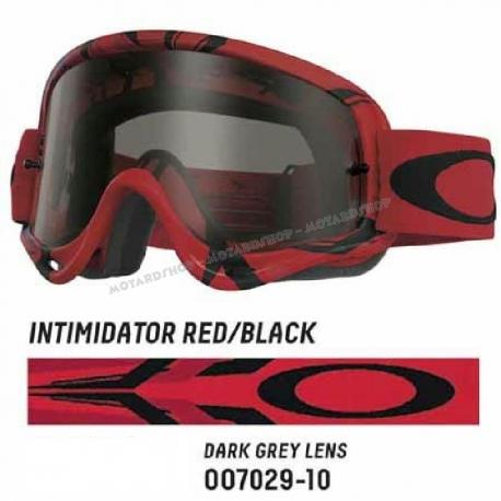 Oakley O Frame INTIMIDATOR RED/BLACK lente FUME'