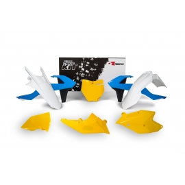 RTECH KIT PLASTICHE KTM VINTAGE BLUE