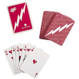 FOX MOTTO CARDS RED CARTE DA GIOCO