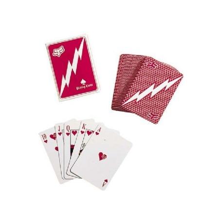 FOX MOTTO CARDS RED CARTE DA GIOCO