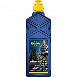 PUTOLINE NANO TECH 100% SYNTHETIC OFF ROAD 4T OIL 10W50