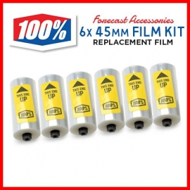 100% FILM rullini ricambio per Forecast Roll-off