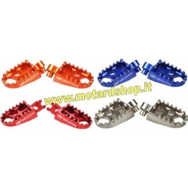 SCAR RACING EVOLUTION  FOOTPEGS PEDANE ERGAL MAGGIORATE