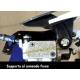 RTECH PARAMANI FLX Rosa Neon MOTOCROSS ENDURO + kit montaggio