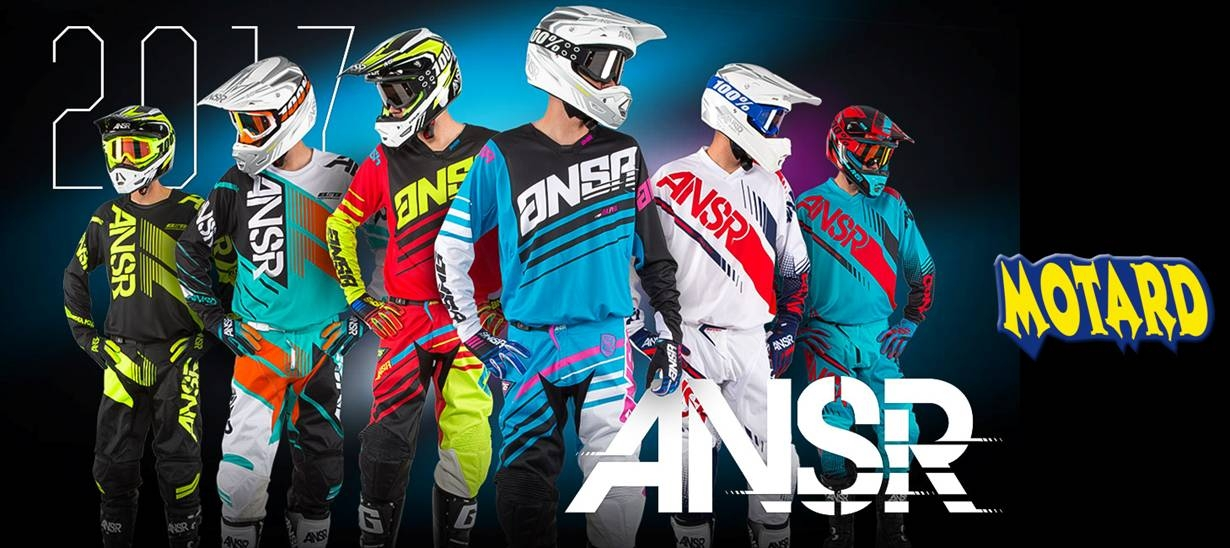 ANSWER RACING 2017 completo motocross enduro quad